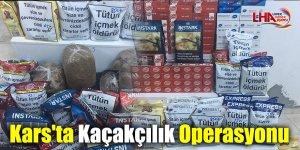 Kars'ta Kaçakçılık Operasyonu