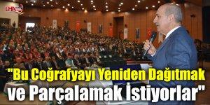 """AK Parti Genel Başkanvekili Kurtulmuş: """"Bu Coğrafyayı Yeniden Dağıtmak ve Parçalamak İstiyorlar"""""""