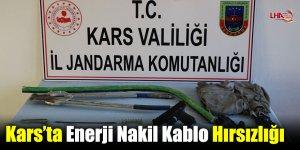 Kars'ta Enerji Nakil Kablo Hırsızlığı