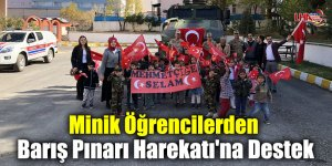 Minik Öğrencilerden Barış Pınarı Harekatı'na Destek