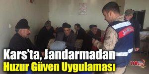 Kars'ta, Jandarmadan Huzur Güven Uygulaması