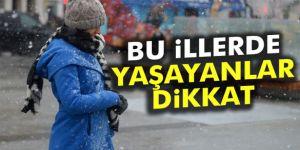 19 Ocak 2017 yurtta hava durumu