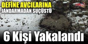 Kars'ta Kaçak Kazı Yapan 6 Kişi Suçüstü Yakalandı