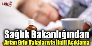 Sağlık Bakanlığından Artan Grip Vakalarıyla İlgili Açıklama
