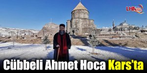 Cübbeli Ahmet Hoca Kars'ta
