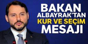 Hazine ve Maliye Bakanı Albayrak'tan önemli mesajlar