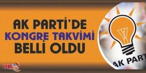 AK Parti'nin İlçe Kongre Tarihleri Netleşti