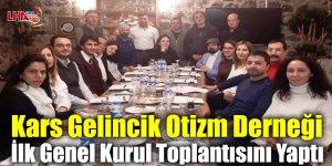 Kars Gelincik Otizm Derneği İlk Genel Kurul Toplantısını Yaptı