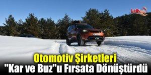 """Otomotiv Şirketleri """"Kar ve Buz""""u Fırsata Dönüştürdü"""