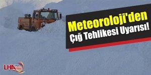 Meteoroloji'den Çığ Tehlikesi Uyarısı!