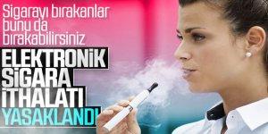 Elektronik Sigara İthalatı Yasaklandı