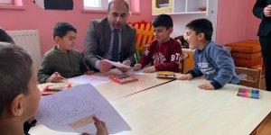 Kağızman İlçe Milli Eğitim Müdürü Aydın'dan okul ziyaretleri