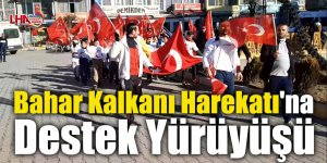 Kağızman'da Bahar Kalkanı Harekatı'na Destek Yürüyüşü