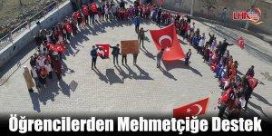 Kağızman'da Öğrencilerden Mehmetçiğe Destek