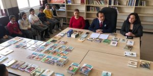 Digor Kaymakamlığı'nda okuma alışkanlığı kazandırma kampanyası