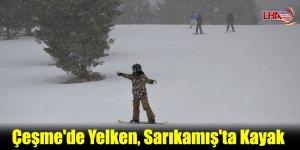 Çeşme'de Yelken, Sarıkamış'ta Kayak