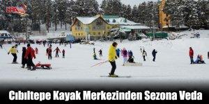 Cıbıltepe Kayak Merkezinden Sezona Veda