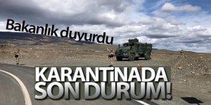 İçişleri Bakanlığı: 'Ülke genelinde 39 yerleşim yerinde karantina uygulamasına başlandı'