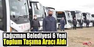 Kağızman Belediyesi 6 Yeni Toplum Taşıma Aracı Aldı