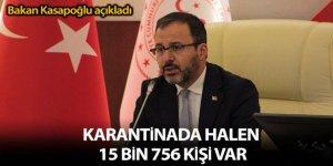 Kasapoğlu, yurt dışından gelen vatandaşların karantina süreçleri hakkında açıklama