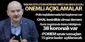 Soylu: 'Türkiye'nin kamu düzeninde en ufak bir sorun söz konusu değil'