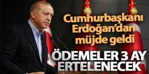 Cumhurbaşkanı Erdoğan'dan 136 bin KOBİ'ye müjde: