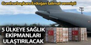 Türkiye'dan Balkan ülkelerine Covid-19 desteği