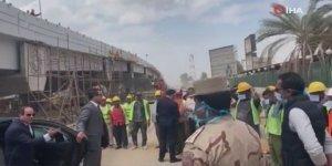Sisi, işçileri maskesiz bıraktığı için ordu subayını azarladı