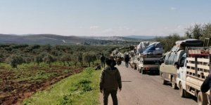 Halep-İdlib arasındaki karayolu geçici olarak açıldı