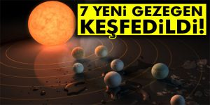 Dünya´ya benzer 7 gezegen bulundu