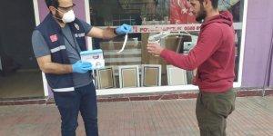 Kars Valiliği binlerce ücretsiz maske dağıttı