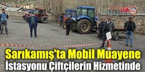 Sarıkamış'ta Mobil Muayene İstasyonu Çiftçilerin Hizmetinde