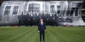 100 yıl önceki fotoğraf, Fenerbahçe Stadı'nda dalgalandı