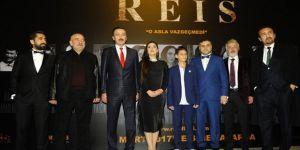 'Reis' filminin galası yoğun katılımla yapıldı