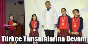 Türkçe Yarışmalarına Devam