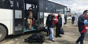 Suudi Arabistan'dan gelen 169 Türk vatandaşı Iğdır'da yurda yerleştirildi