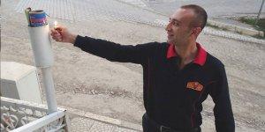 Hisarcık'ta Ramazan topu yerine ses bombası