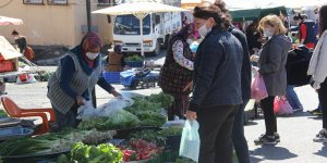 26 gündür kapalı olan pazarlar yeniden açıldı