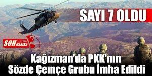 Kağızman'da PKK'nın Sözde Çemçe Grubu İmha Edildi