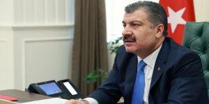 Sağlık Bakanı Koca, DSÖ'ye Türkiye'nin Covid-19 mücadelesini anlattı
