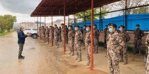 Tunceli'den PÖH'ler El-Bab'a uğurlandı