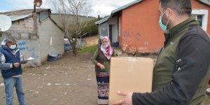 Sarıkamış Kaymakamlığından ihtiyaç sahiplerine Ramazan yardımı