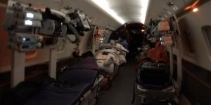 Ambulans uçaklar dünyanın dört bir yanındaki Türk hastalar için havalanıyor
