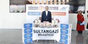 Sultangazi'de çölyak hastalarına glütensiz gıda desteği