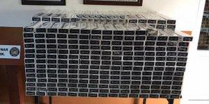MSB: '6 bin 578 paket kaçak sigara ele geçirildi'
