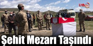 Sarıkamış'ta Şehit Mezarı Taşındı