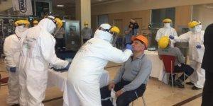 Sanayi çalışanlarına ücretsiz Covid-19 testi yapılmaya başlandı