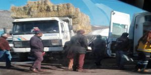Hayvan Pazarı'nda kaza 5 yaralı