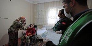 Çocukları rehabilitasyon gören ailelere yardım