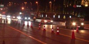 15 Temmuz Şehitler Köprüsü'nde polis ekipleri denetime başladı